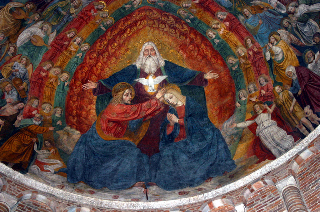 San_Simpliciano_-_Affresco_Bergognone